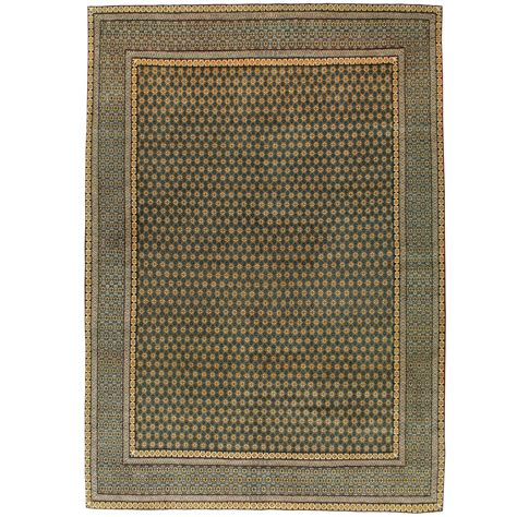 deco style rugs vintage qum deco style rug for sale at 1stdibs