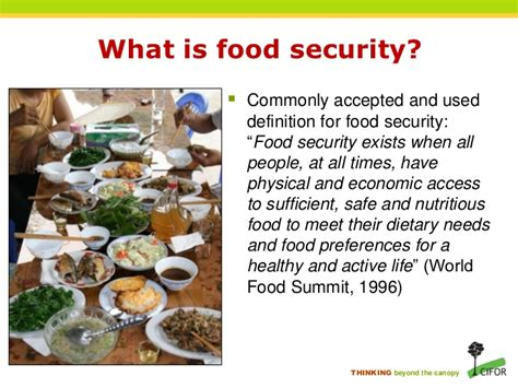 what is in food forests biodiversity and food security