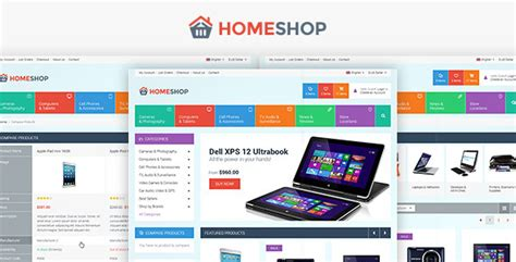 home shop retail psd template psd templates themeforest
