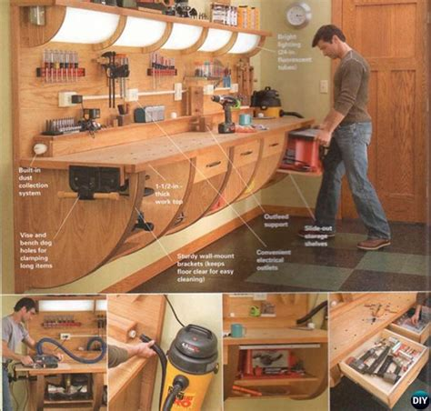 garage diy projects garage organization and storage diy ideas projects