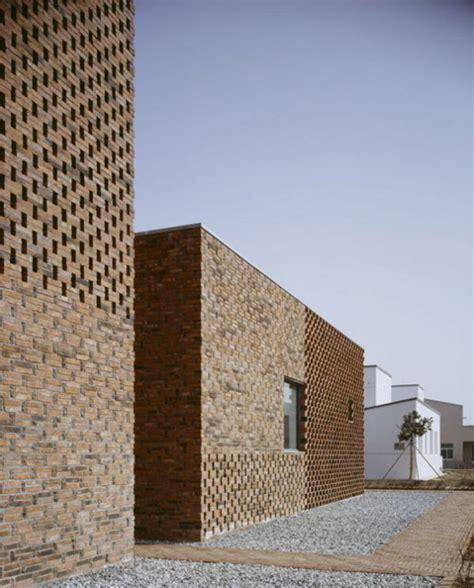 modern brick house modern brick home design in china brings an innovative