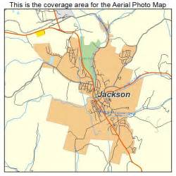 jackson california map aerial photography map of jackson ca california