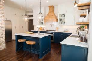 Kitchen Cabinets Blue 23 Gorgeous Blue Kitchen Cabinet Ideas