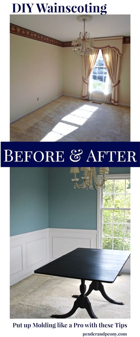 Putting Up Wainscoting by 8 Tricks To Diy Wainscoting Pender Peony A Southern