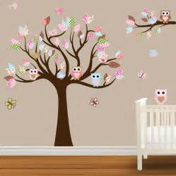 Owl Nursery Wall Stickers Etsy Your Place To Buy And Sell All Things Handmade
