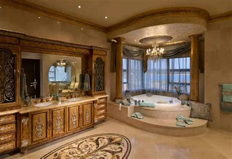south african palace bathroom dream home mansion