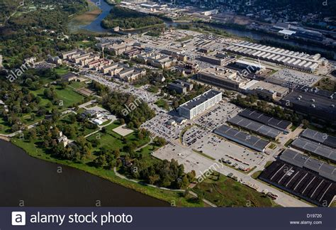 With The Thanks To Ok And River Island by Aerial Photograph Rock Island Arsenal Mississippi River