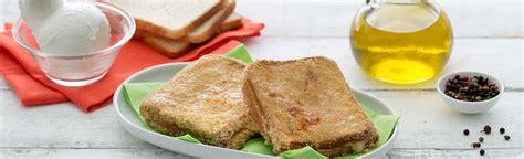 mozzarella in carrozza al forno ricetta mozzarella in carrozza al forno una ricetta sfiziosa