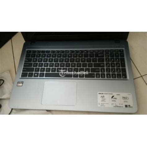 Laptop Asus Spek Amd laptop asus x540y amd e1 dual e1 7010 mulus lengkap