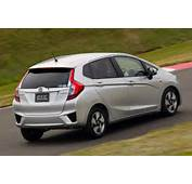 All New 2015 Honda Fit Appears Hybrid Model Too Not For US Though