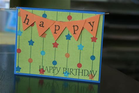 simple birthday cards to make and easy birthday cards class
