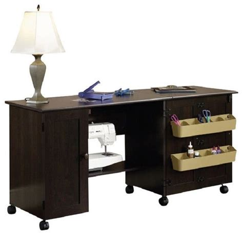 sauder sewing and craft table multiple finishes 17 best images about sauder sewing on pinterest crafts