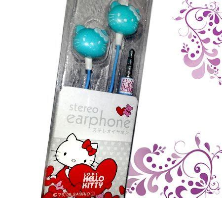 Termurah Anting Korea Baby pernik fancy grosir 187 earphone lucu 187 earphone hellokitty