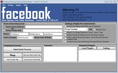 facebook hacking software free download for pc full version windows 7 free download full version software facebook account