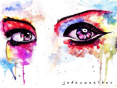 watercolor tutorial eyes eye study watercolor ii by jadesweetbox on deviantart