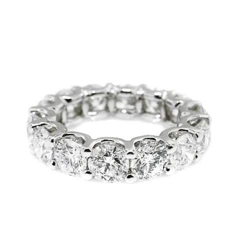 1 25 ct cut eternity 14k white gold band