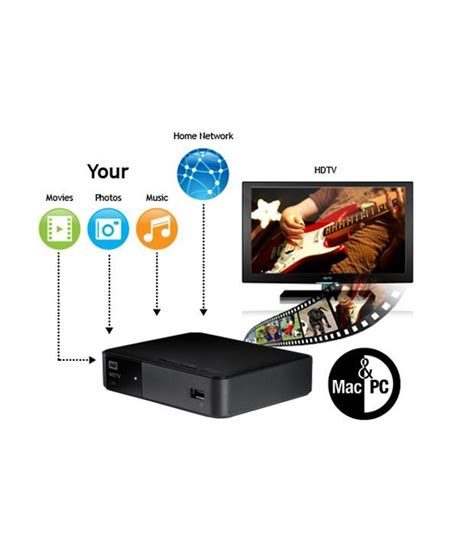 Wifi Play Media buy wd tv live wi fi media player at best price in