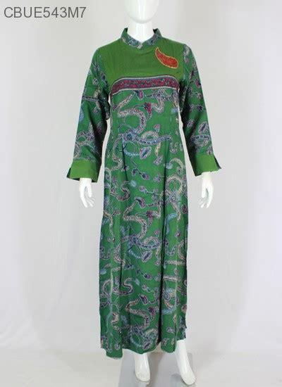 Baju Batik Gamis Murah baju batik gamis motif regolan batang gamis batik murah