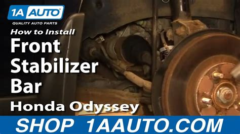 install replace front stabilizer bar link honda