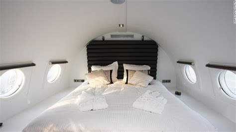 airplane bed creative ways to recycle a plane cnn com