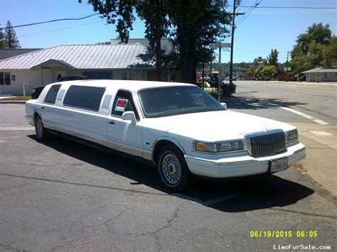 1997 lincoln town car sale used 1997 lincoln town car l sedan stretch limo