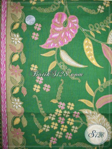 Batik Katun Motif Daun Pejabat kain batik motif daun talas motif batik elegan dan