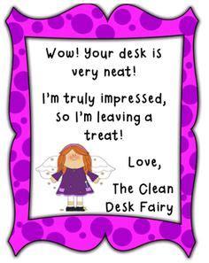 Clean Desk Award by The Clean Desk Award Classroom Ideas