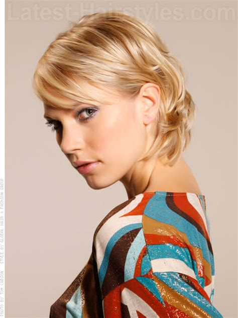haircuts with flip behind the ear 15 spectacular short hairstyles for thick hair