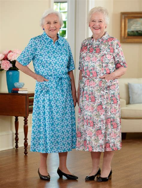 house dresses for elderly short sleeve polyester house dress 35 off buck buck