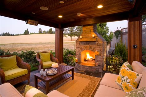 Porch Fireplace by Shocking Outdoor Propane Fireplace Decorating Ideas