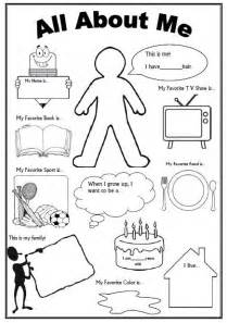 About Me Template For Students by 25 Best Ideas About All About Me On About Me