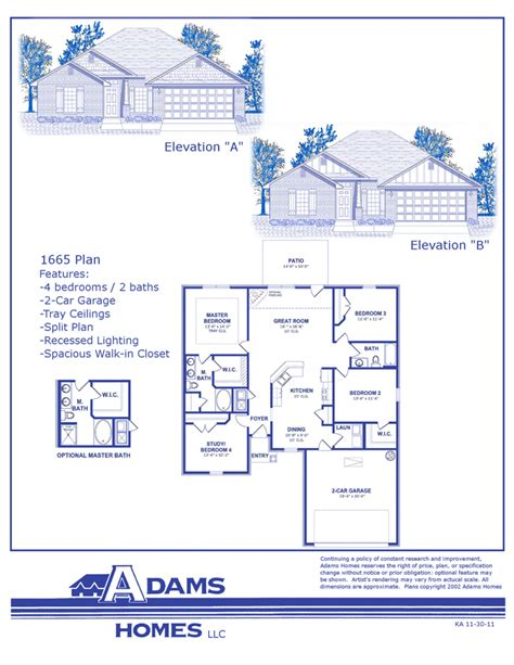 adams home floor plans adams homes floor plans and location in jefferson shelby