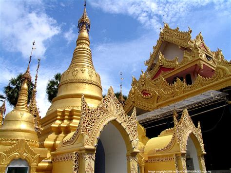 Buddhist Temple Visit Penang Spot Wat Dhammikarama Burmese Buddhist