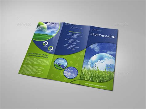 environment template environment eco tri fold brochure template vol 2 by