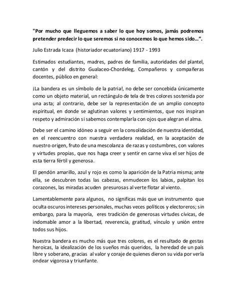 palabras alusivas para el dia de la bandera argentina discurso por el d 237 a de la bandera ecuatoriana