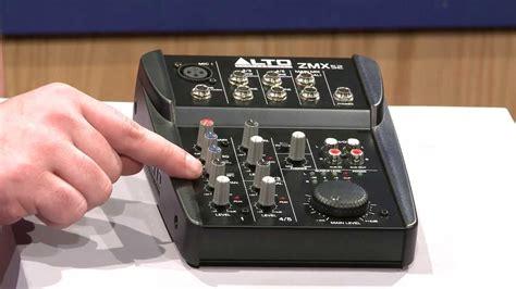 Mixer Alto Zmx 862 alto professional zephyr series zmx52 5 channel compact