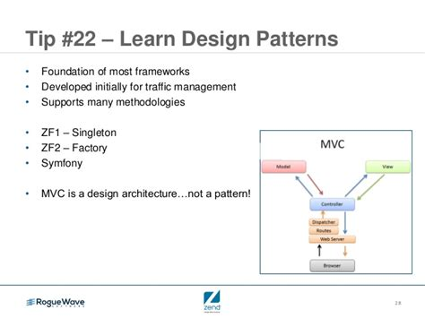 design pattern zf2 php tips for ibm i in 60 mins