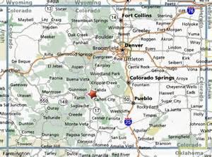 salida colorado map map of salida colorado