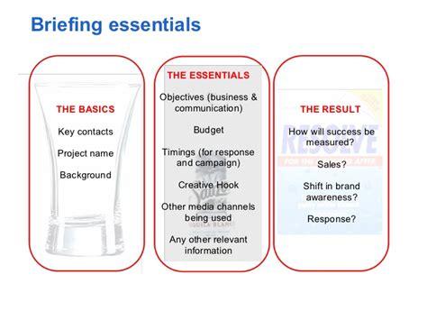 digital media briefing amp planning process