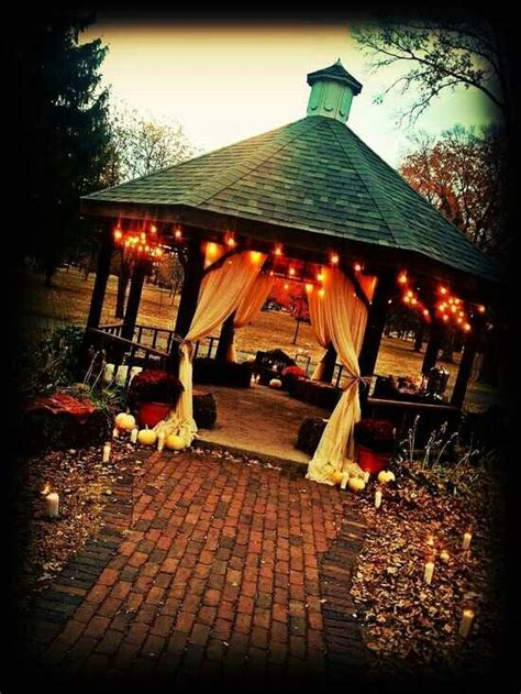 fall outdoor wedding decorations outdoor fall wedding maybe someday