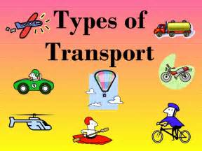 Different types of land transportation