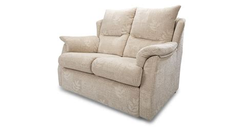 small fabric recliner chairs dfs stow cream fabric small 2 seater sofa and manual