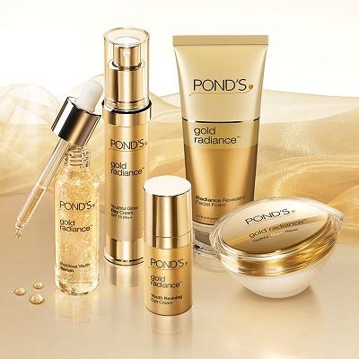 Serum Ponds gold micro particles promakeupme