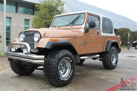 Jeep Cj 8 1984 Jeep Cj 8 Scrambler