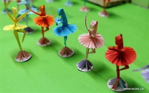 Origami Ballet Dancer - folk origami dancers 3 chinadaily cn