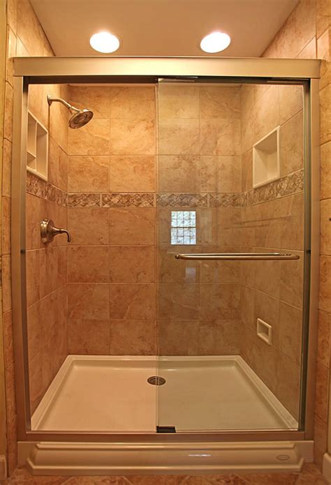 small tile shower trend homes small bathroom shower design