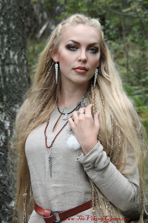 viking womans hair styles pics the viking queen for rocklove jewelry thevikingqueen