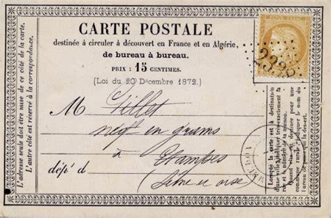 lettre postale d 233 co une famille fran 231 aise vient de recevoir une carte postale envoy 233 e en 1975 le journal du buzz