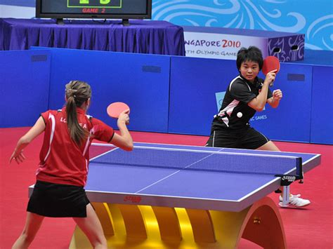 table tennis ten random facts