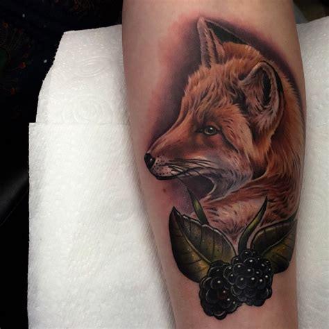 tattoo maker for blackberry blackberry fox tattoo best tattoo ideas gallery